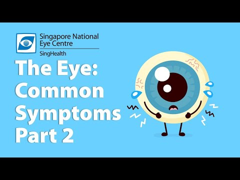 ​Common eye Symptoms (Part 2) - Eye Discharge, Red Eyes, Itchy Eyes and Pain in the Eyes