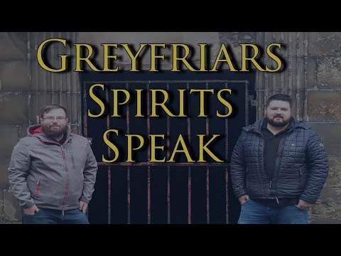 Greyfriars Kirkyard Ghost Tour Voices Captured