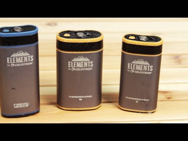Celestron Elements FireCel Mega 6 - Warmer/Charger/Flashlight - 93548