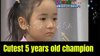 Cutest 5-year-old Champion