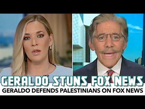 Geraldo Defends Palestinians And Schools Fox News On The Crisis