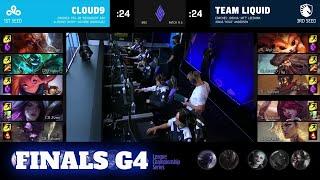 C9 vs TL - Game 4 | Grand Finals LCS 2021 Mid-Season Showdown | Cloud 9 vs Team Liquid G4 full game