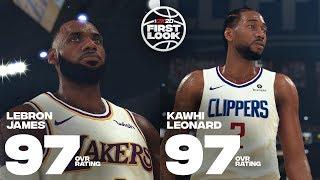 NBA2K20球员评分曝光全解析!最强21人!最佳新秀和变态准射手!