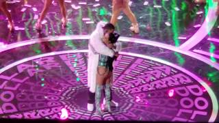 "BECKY G & MYKE ""TOWERS DOLLAR LETRA"" @ 2019 LATIN AMERICAN MUSIC AWARDS PT.2628"