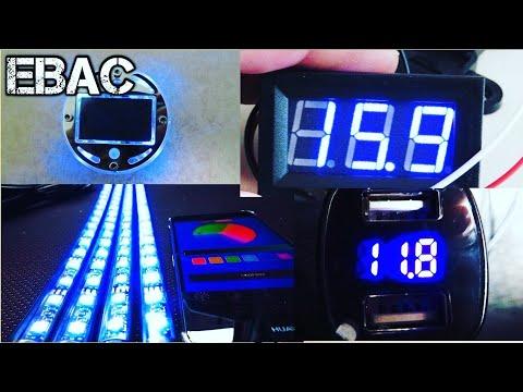 Medidores de Voltaje Económicos y Luces Geniales para tu Instalación   EBAC