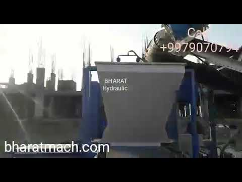 Automatic Bricks & Block Making Machine with Auto Stacker System - BHAS-101C