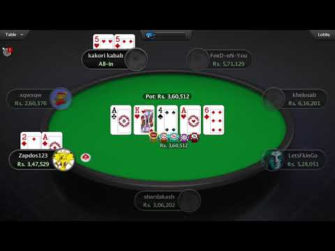 Sixth Sense (7.5L GTD) Final-Table Replay | PokerStars India
