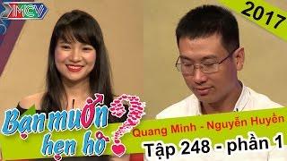 Thành công tác hợp cho chàng thủy thủ và nàng kế toán xinh xắn | Quang Minh - Thị Huyền | BMHH 248