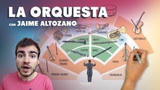 La orquesta musical con Jaime Altozano