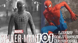 Spider-Man PS4: 101 - NEW Daily Bugle Newspaper!!! Spidey Cosplayers, Roxxon, & More!!!