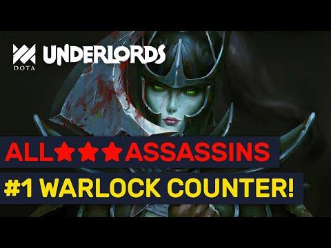 COUNTER THE META! High Rank 6 Epic ★★★ Assassins Build! | Dota Underlords