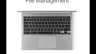 Video Tutorial: Managing Files on Chromebook