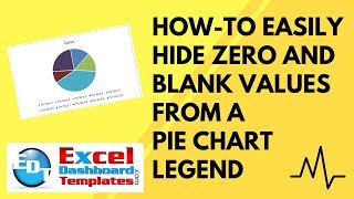 How-to Easily Hide Zero and Blank Values from an Excel Pie Chart Legend