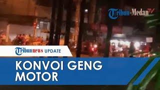Geng Motor Konvoi dan Lempari Kedai Kopi dengan Batu, Tiga Terduga Pelaku Ditangkap Pihak Kepolisian
