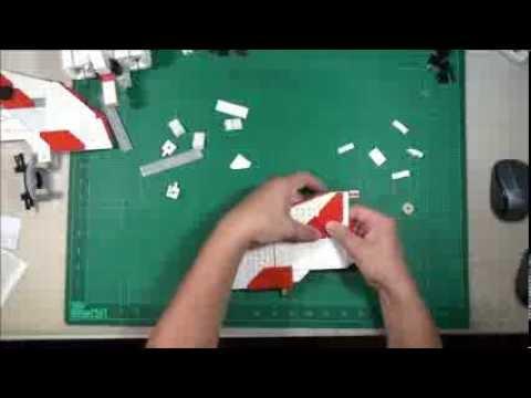 Vidéo LEGO Star Wars 7931 : T-6 Jedi Shuttle