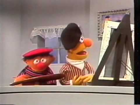 Sesamstraße - Ernie und Bert malen ein Bild