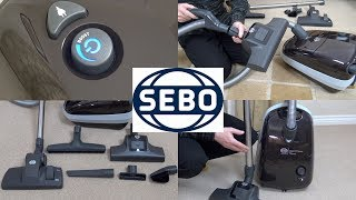 Sebo Airbelt E1 Boost ePower Vacuum Cleaner Unboxing & First Look