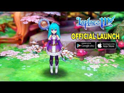 Laplace M Closed Beta Gameplay [Android IOS] - смотреть онлайн на