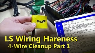 mqdefault hmongbuy net how to 4 wire ls wiring harness conversion, part 1 how to 4 wire ls wiring harness conversion at n-0.co