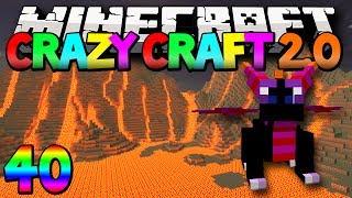 "Minecraft Mods Crazy Craft 2.0 ""Baby Dragon!"" Modded Survival #40 w/Lachlan"
