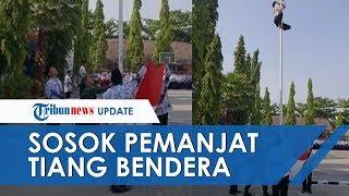Viral Video Siswa di Bojonegoro Panjat Tiang Bendera saat Upacara Hari Guru, Ini Sosoknya