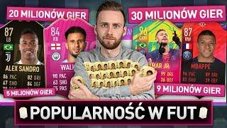 TYLKO NAJPOPULARNIEJSZE KARTY FUT W DRAFCIE! | FIFA 19