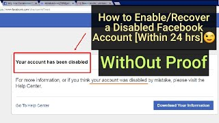 Disable Facebook account recover without real proof - ฟรี