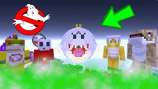 Bowser Jr Ghost Busters [HAUNTED HOUSE!] | Nintendo Fun House | Minecraft Switch [244]