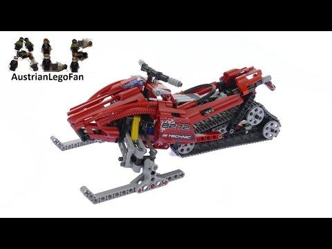Vidéo LEGO Technic 8272 : Le scooter des neiges