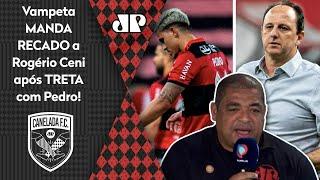 Vampeta manda recado a Rogério Ceni após treta com Pedro no Flamengo