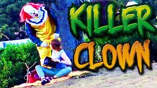 Killer Clown Halloween Prank