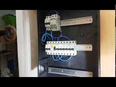 Como hacer cuadro eléctrico  según normativa vigente