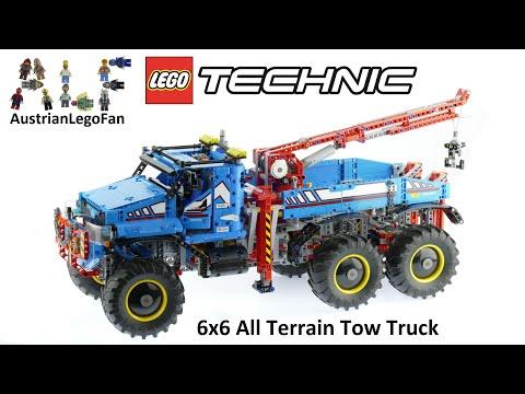 Vidéo LEGO Technic 42070 : La dépanneuse tout-terrain 6x6