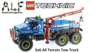 Lego Technic 42070 6x6 All Terrain Tow Truck - Lego Speed Build Review