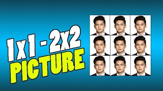 How to create 1x1 and 2x2 Picture | Basic Photoshop Tutorial