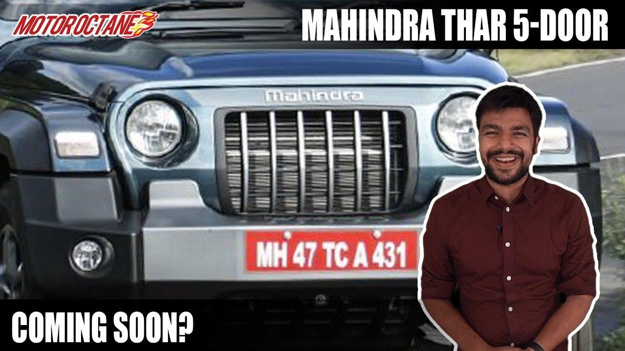 Motoroctane Youtube Video - Mahindra Thar 5 Door Coming?   Hindi   MotorOctane