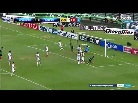 Sarmiento 0 - Nueva Chicago 1