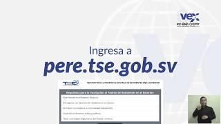 Voto Exterior · Solicita Tu Inscripción Al Padrón Electoral De Residentes En El Exterior