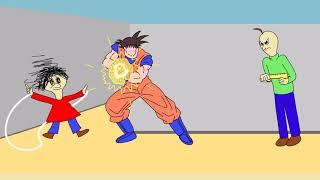 Baldi's Basics ANIMATION Parody Goku in the Game