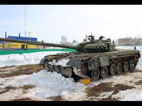 Танк Т-80 прибыл в Ермекеево!