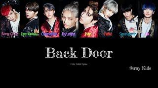 스트레이 키즈 (Stray Kids) - Back Door Color Coded Lyrics