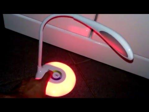 Touch Dimmer Led Schreibtisch Stimmungslampe Onite integrierter Akku