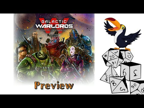 Galactic Warlords Battle for Dominion Preview