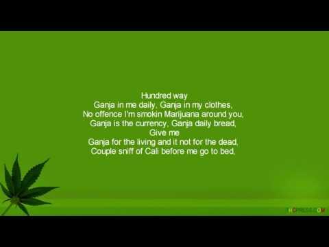 Ras Matthew   Ganja In My Brain HQ  Lyrics