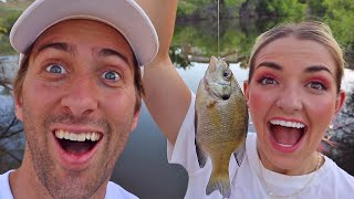 Catch A Fish Get A Kiss Challenge!