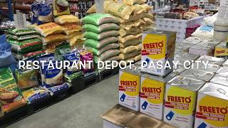 What to see at restaurant depot?