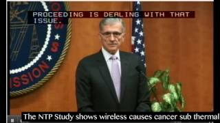 Tom Wheeler FCC Chair 5 G Spectrum Frontiers Asked About How Wireless Causes Cancer