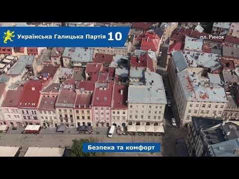 Над Левом: вул. Беринди, пл. Катедральна, Шевська, пл. Ринок, пл. Яворського, Руська