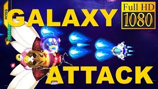 Galaxy Attack: Space Shooter Game Review 1080P Official Space Galaxy