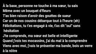 Black M   Mon Beau Frère (paroleslyrics)